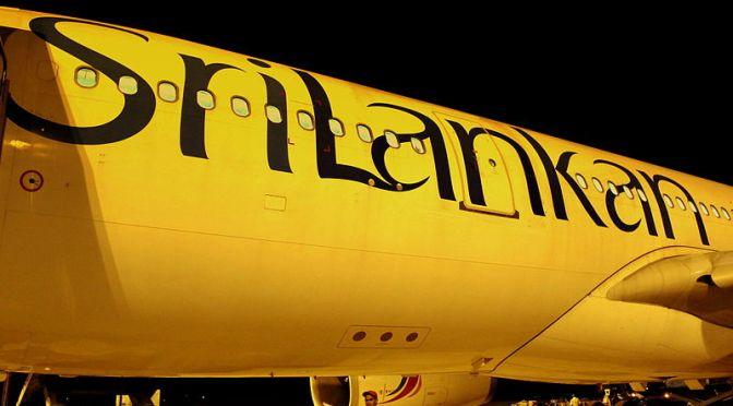 Greetings from Bandaranaike Airport Sri Lanka