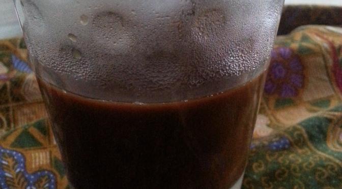 Kopi susu delight in Jogyakarta