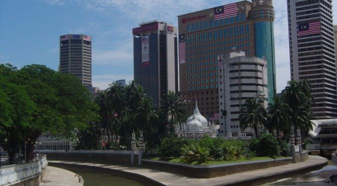Same place, KL a decade later