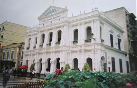 Colonial building, Macau