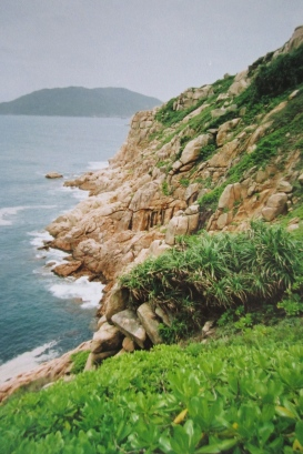 Shek O cliffs