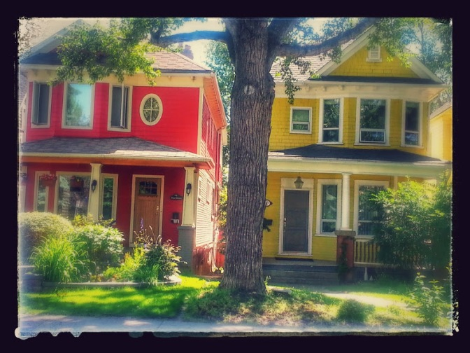Houses in South-west Calgary