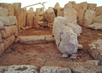 Malta's Hagar Qim Temple