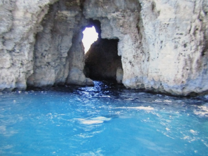 Malta's Blue Lagoon on Comino Island