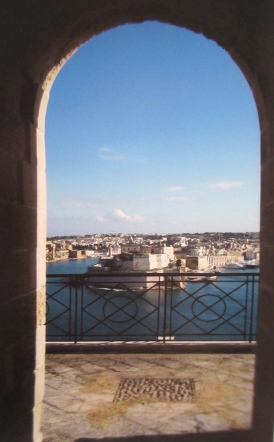 Looking across the Grand Harbour from Barrakka Gardens