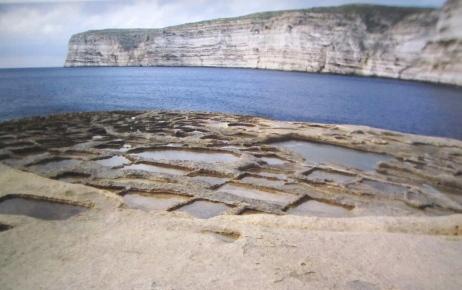 Exiting Xlendi Bay, Gozo