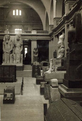 Inside Cairo Museum - Photo courtesy: San Diego Air & Space museum - wikimedia.org