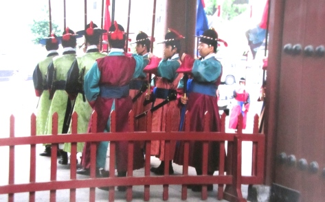 Changing of the guards, Deoksugung Palace, Seoul