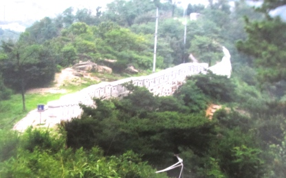 Mt Inwangsan fortress wall