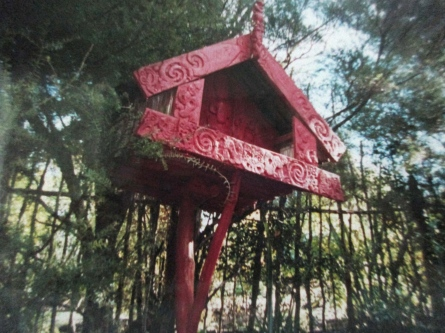 Where sacred items were kept, Rewa Village, Keri Keri