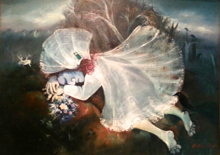 From Arthur Boyd's Bride Series, Heidi Gallery, Victoria