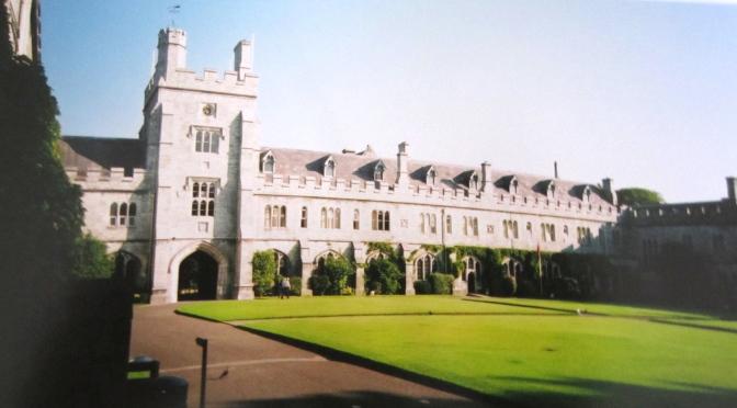 Cork's university campus
