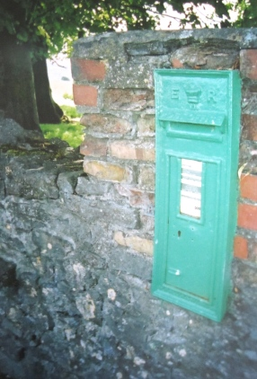 Letterbox near the Catholic Church, Bennettsbridge