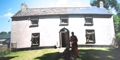 300 year old house I based the family farm on in my novel