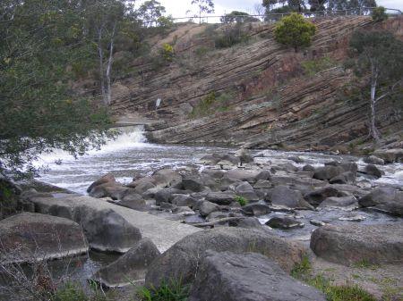 Yarra River at Yarra Bend, Melbourne