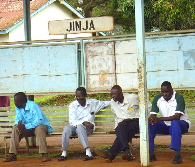 Reality check back in Jinja