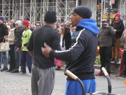Rap street entertainers, New York