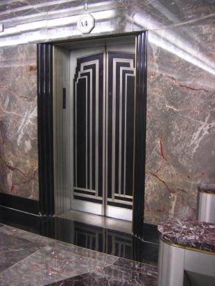 Empire State Building elevator