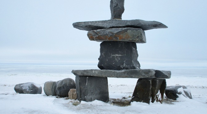 Churchill's Inukshuk Beach