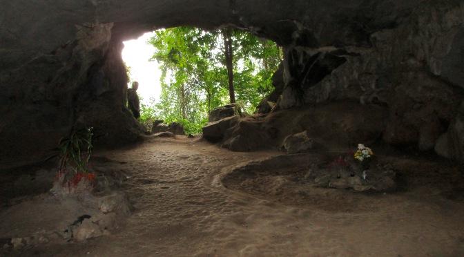 A prehistoric cave