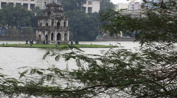 A Hanoi lake