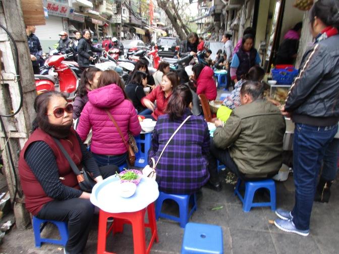 Street eating