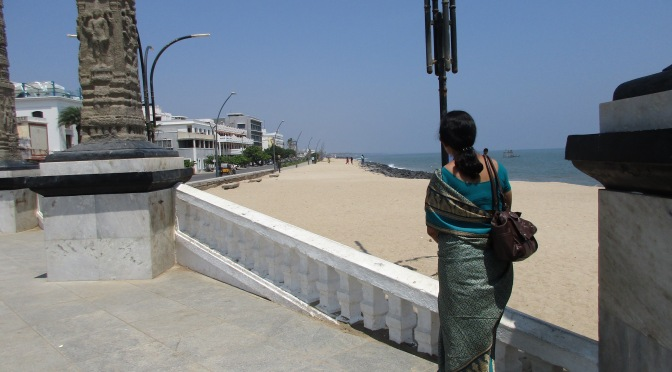 Pondy's beachfront