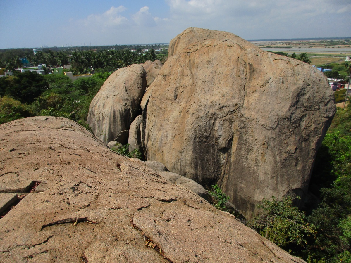 Granite boulders of Mamallapuram