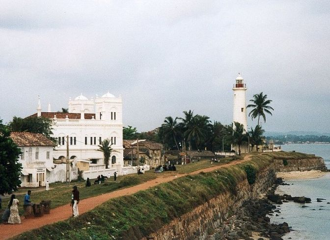 South to Galle