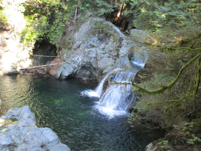 North Vancouver's Twin Falls