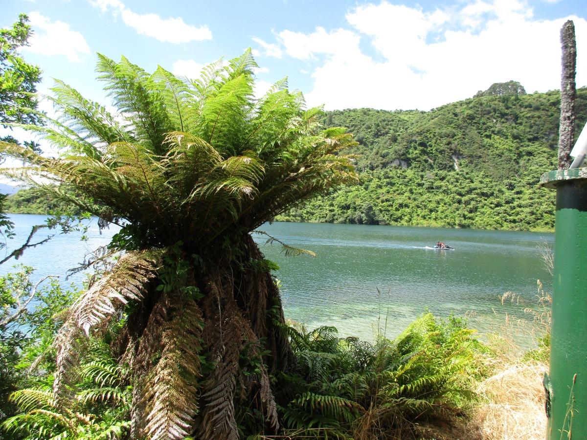 Lake Tarawera's Tuhourangi past