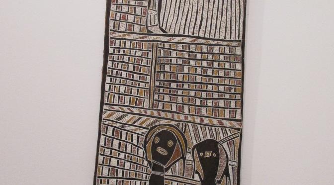 Aboriginal Stringy Bark Paintings