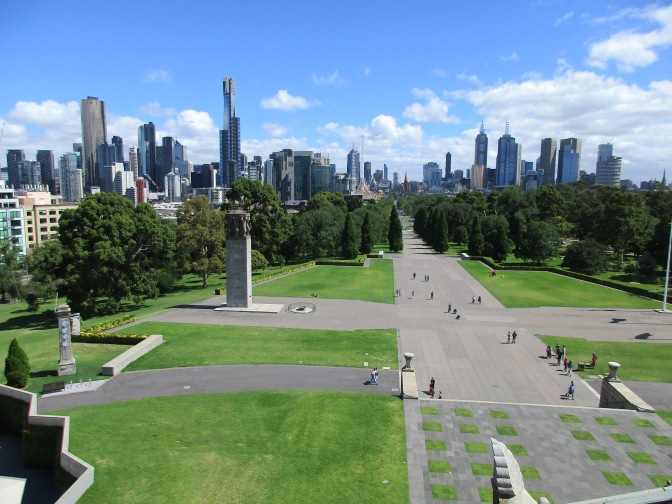 Melbourne from a Rooftop