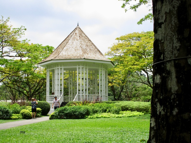 Buildings within Singapore's Botanic Gardens