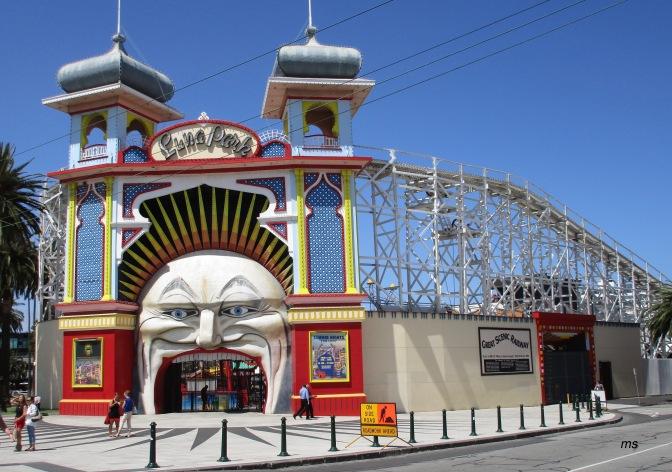 St Kilda's Luna Park