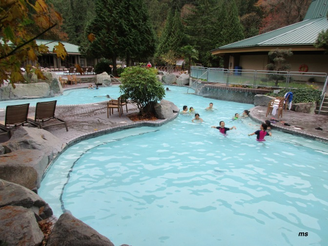 Harrison Hot Springs' pools