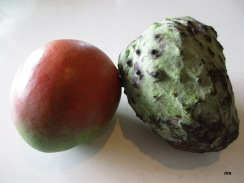 Mango and custard apple