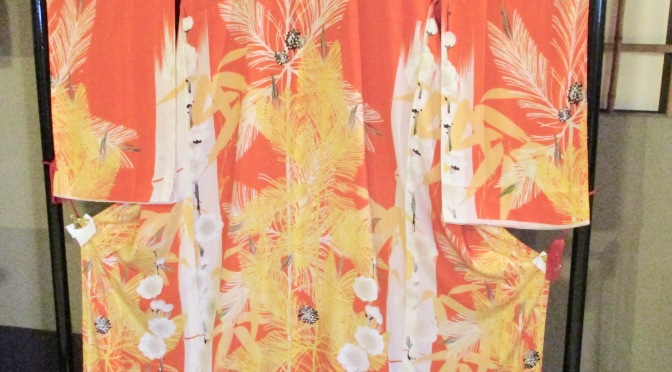 A museum of kimonos