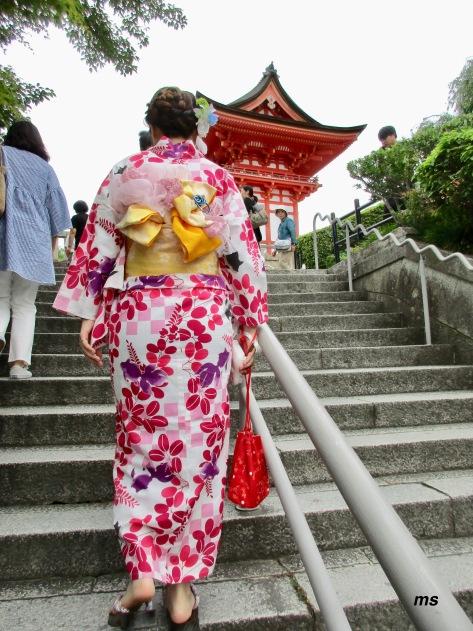 Steps to Kiyomizu-dera, Kyoto