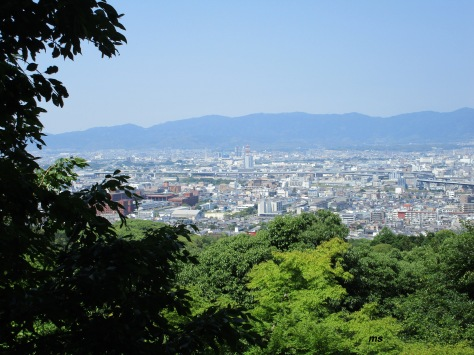 Kyoto from Fushimi Inari-Taisha,