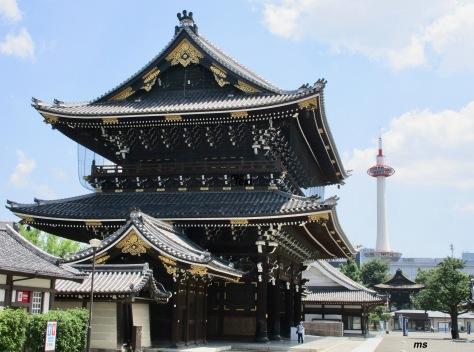 Higashi Honganji entrance, Kyoto