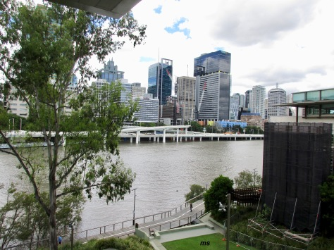 Brisbane River from Art Gallery