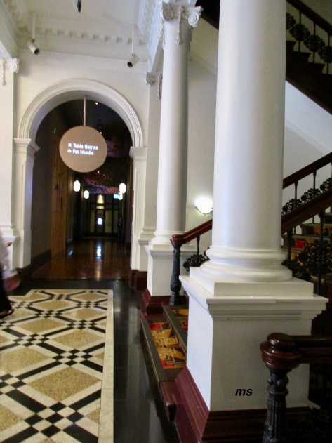 Inside Old Treasury Building, Brisbane
