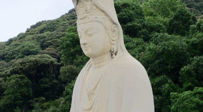 Drawn by a giant Bodhisattva