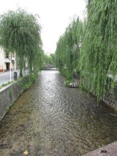 Sanjo dori canal, Kyoto