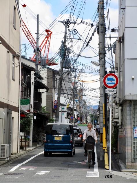 Street off Shinjo-dori, Kyoto