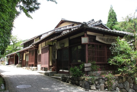 Traditional houses, Arishiyama
