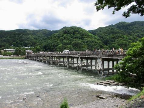Togetsu-kiyo Bridge, Arashiyama