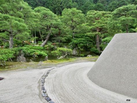 Ginkakuji Temple Gardens, Kyoto