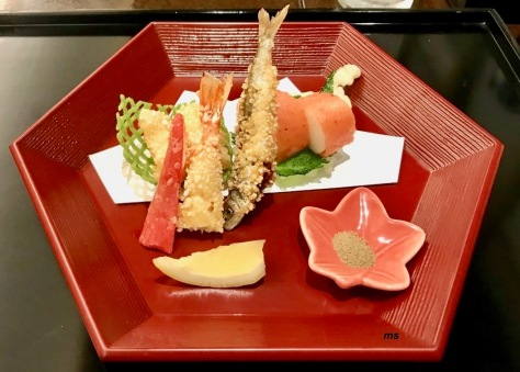 Tempura, Hamatoku Restaurant